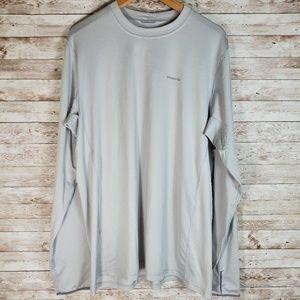 Patagonia Grey Long Sleeve Shirt